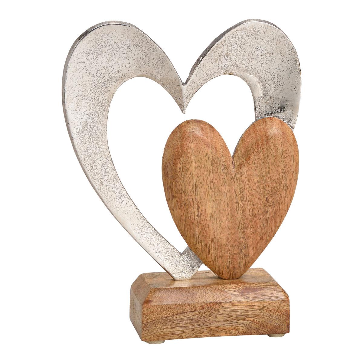 "Декоративная фигура ""Два сердца"" [08349],"