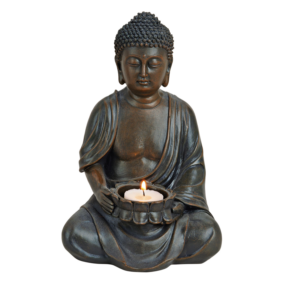 """Декоративная фигура """"Будда"""", с подсвечником [08423],"""