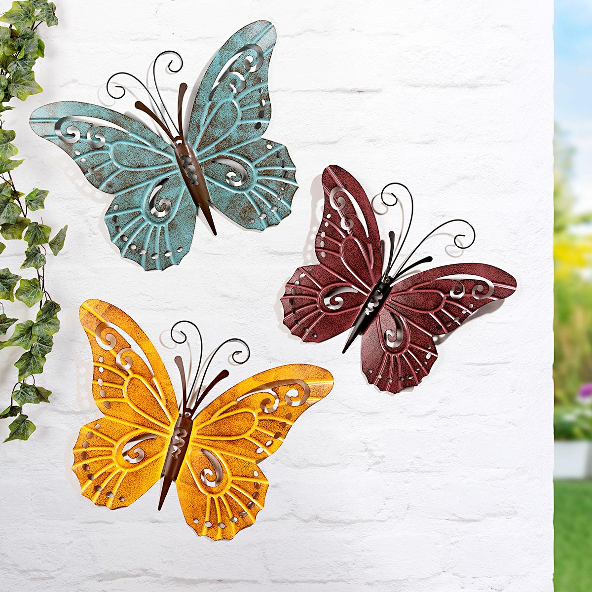 """Настенные украшения """"Бабочки"""", 3 штуки [08454],"""