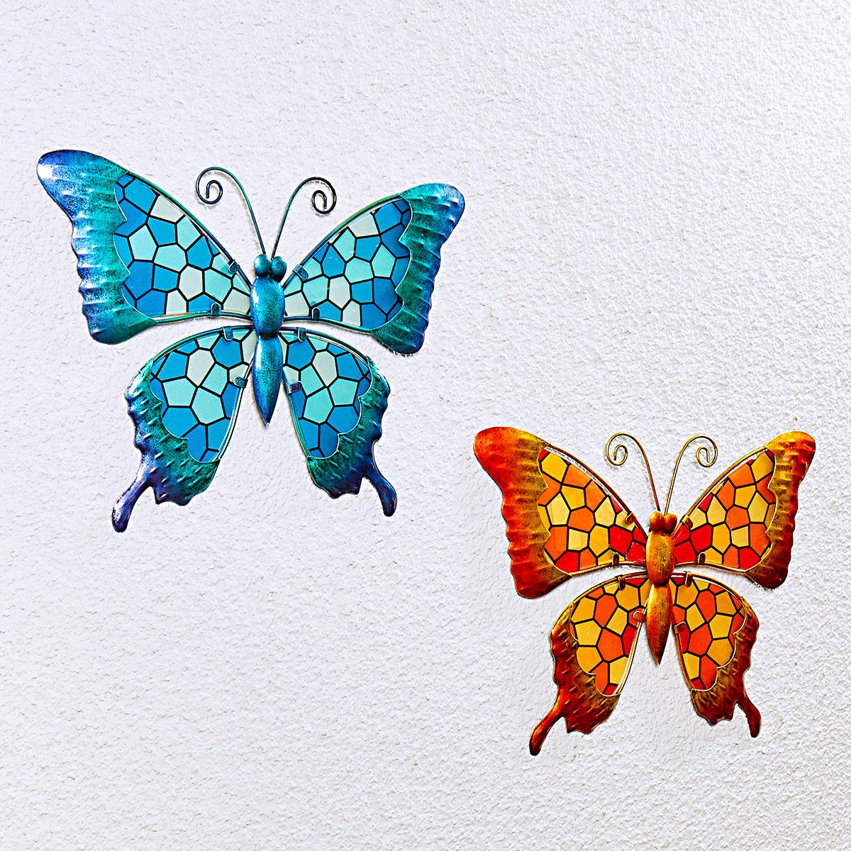 """Подвесное украшение """"Бабочка"""", оранжевая [08456],"""