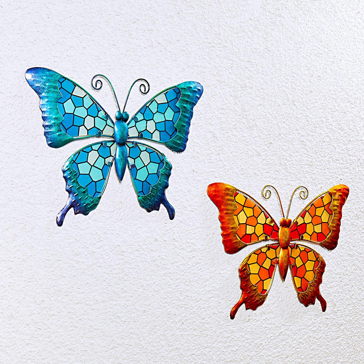 """Подвесное украшение """"Бабочка"""", синяя [08457],"""