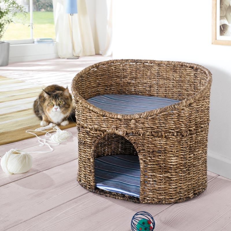 Домик для кошек,кукуруза
