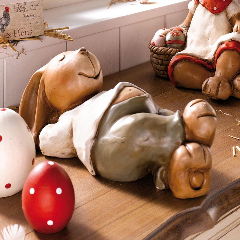 """Фигура зайца декоративная """"Минута отдыха"""" [03145] Фигура зайца декоративная """"Минута отдыха"""""""