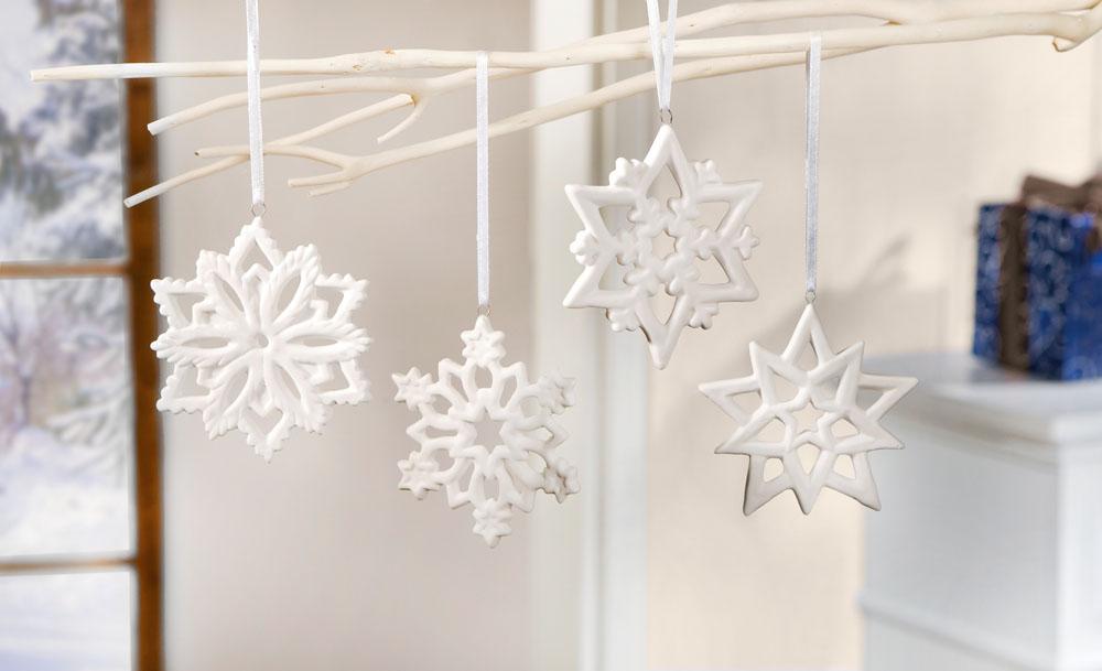 """Подвески """"Снежные кристаллы"""""""