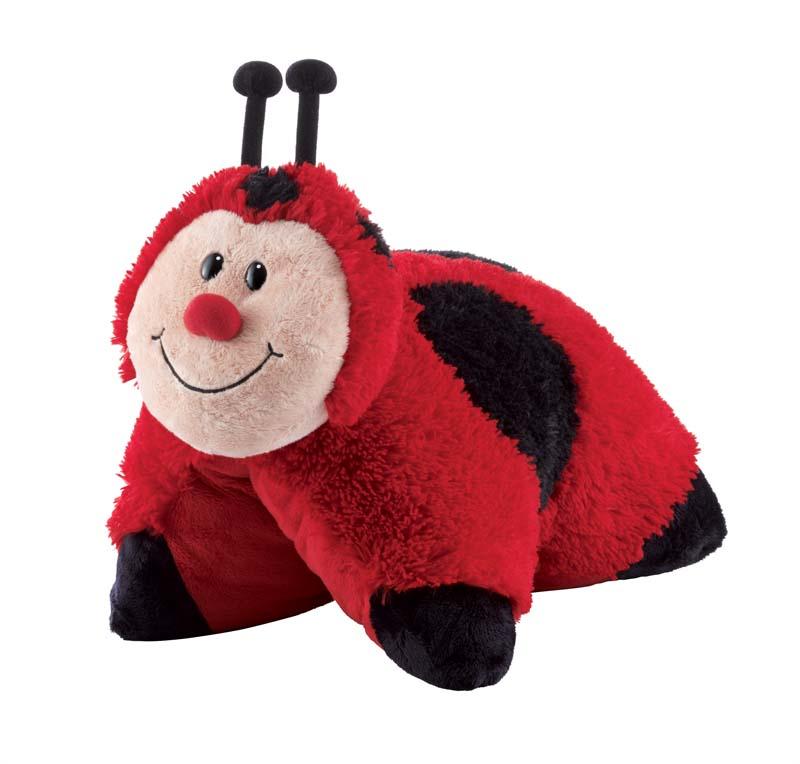 """Подушка - игрушка """"Божья коровка"""" [02286] в магазине Интернет-магазин Хит"""