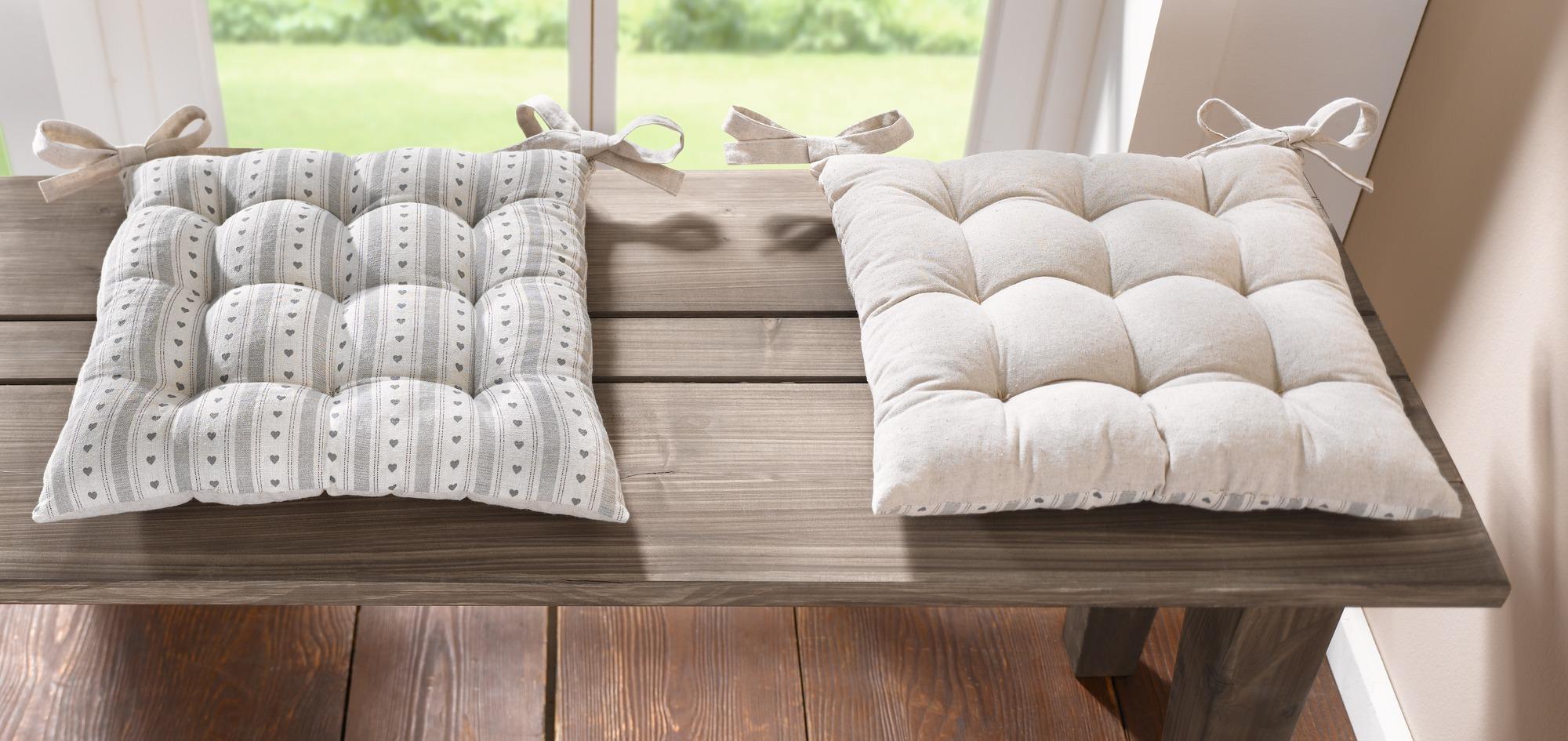"""Подушка на стул """"Коттедж"""", 40 х 40 см"""