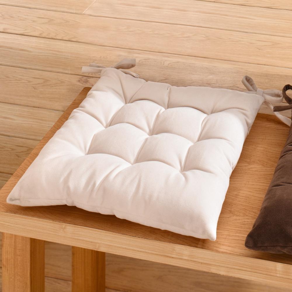 """Подушка для сидения """"Замша"""" 40 х 40см"""
