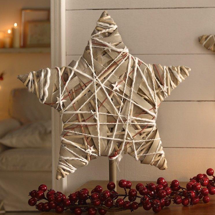 """Звезда на подставке """"Рождественское чудо"""""""