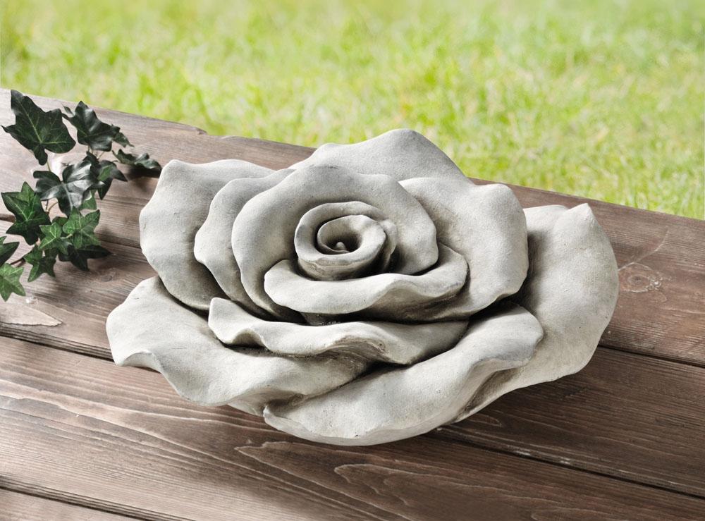 "Декоративная фигура ""Цветок розы"" диаметр 39 см [03754],"