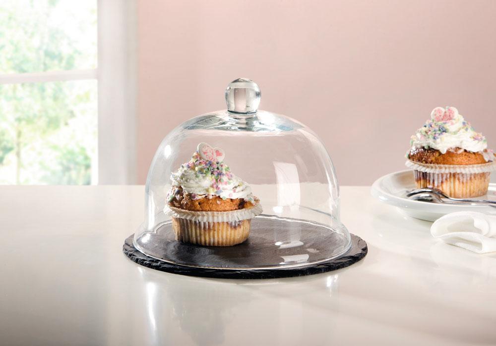 """Подставка для подачи десертов """"Гурмэ"""" Д22см [03834] в магазине Интернет-магазин Хит"""