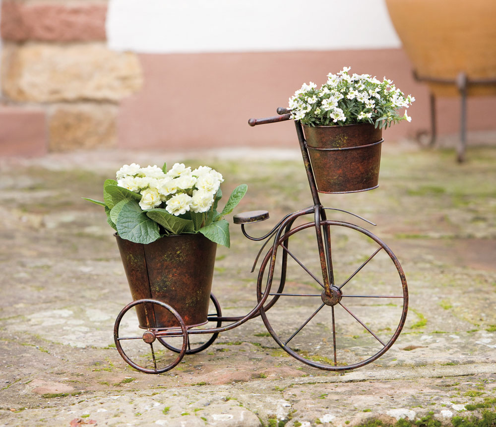 """Подставка для цветов """"Велосипед"""", металл [03886] Подставка для цветов """"Велосипед"""" металл"""