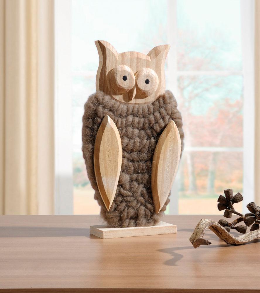 """Декоративная фигура """"Сова в шерстяном наряде"""" [04212] Декоративная фигура совы """"Шерстяной наряд"""""""