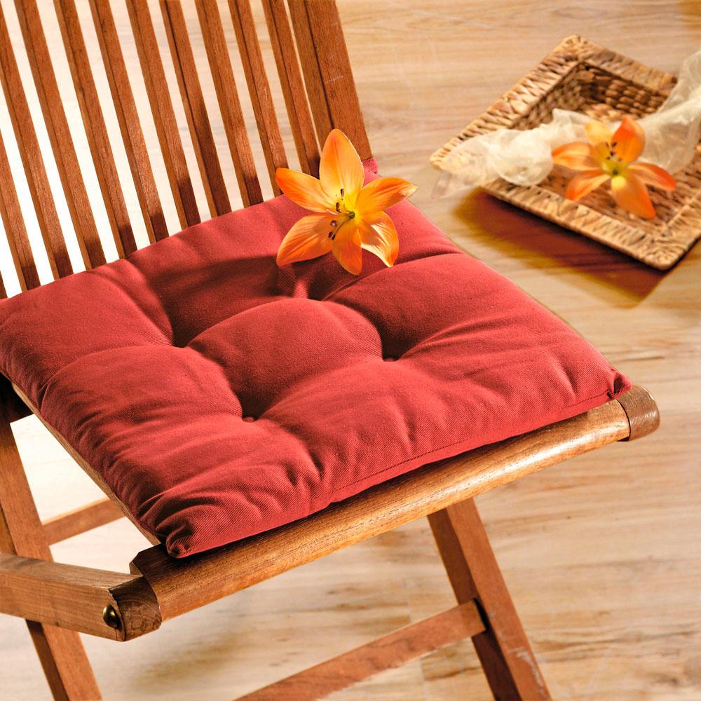 Подушка для сидения, бордо