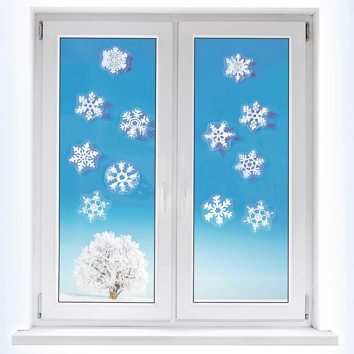 свою как украсить окна снежинками картинки кот выбросил младенца