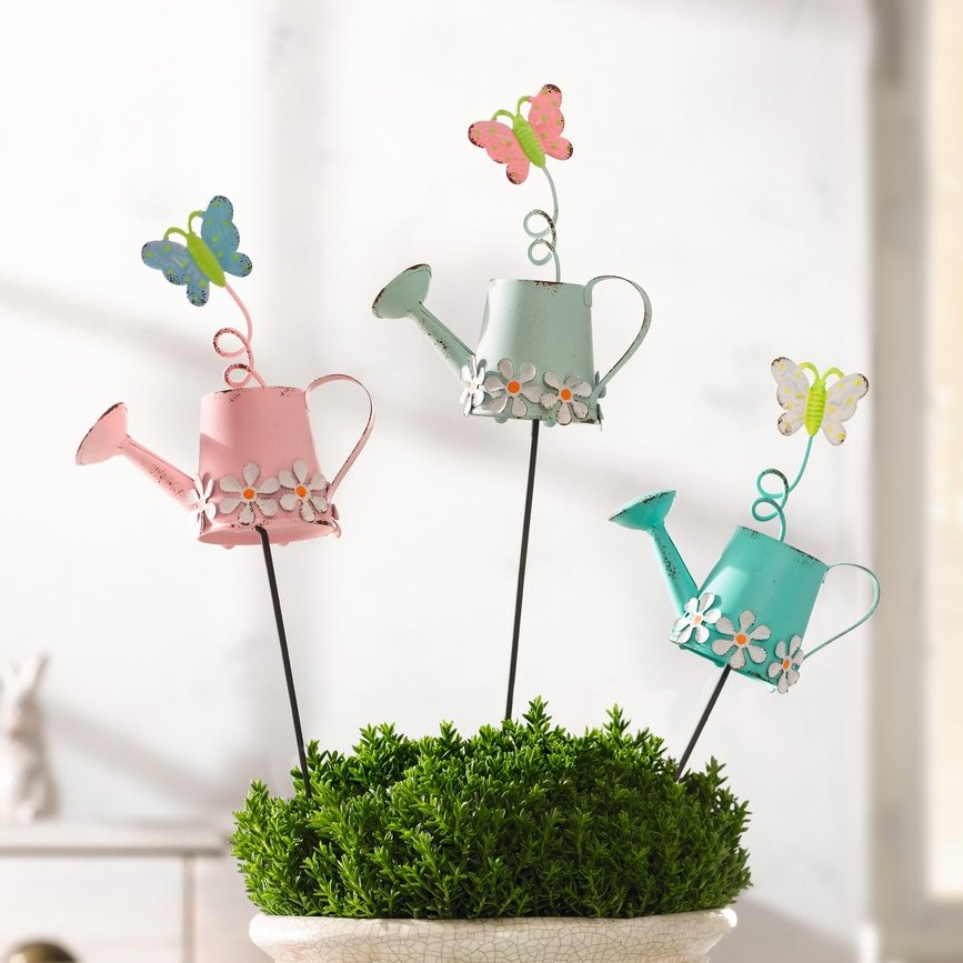 """Декоративные штекеры """"Весенний сад"""" 3 штуки [04401] Декоративные штекеры """"Весенний сад"""", 3 шт."""