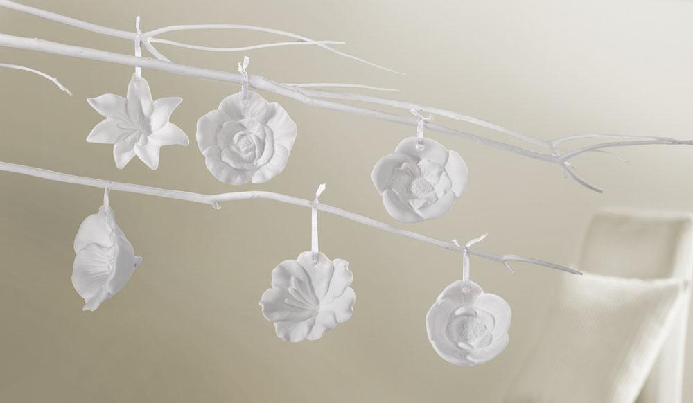 """Подвесные украшения """"Море цветов"""" 6шт."""