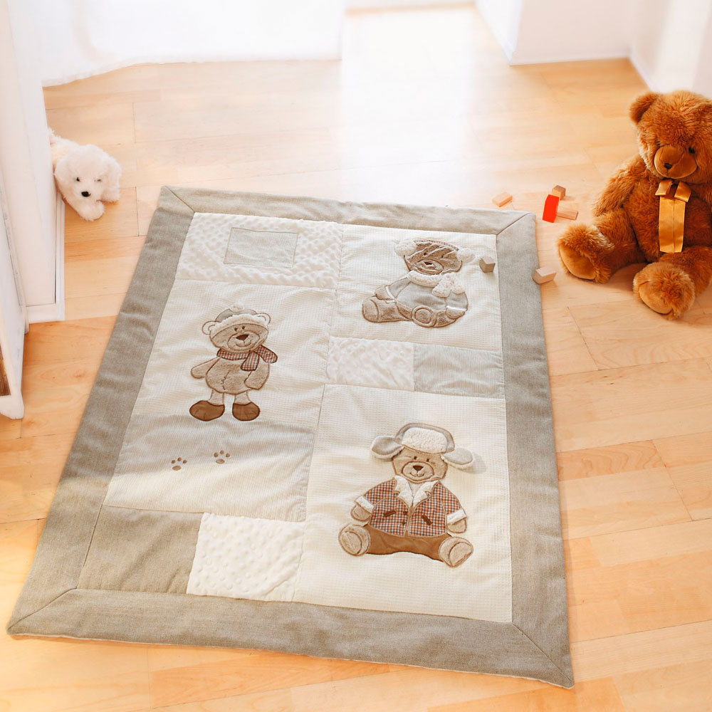"""Одеяло для ползания """"Медвежата"""""""