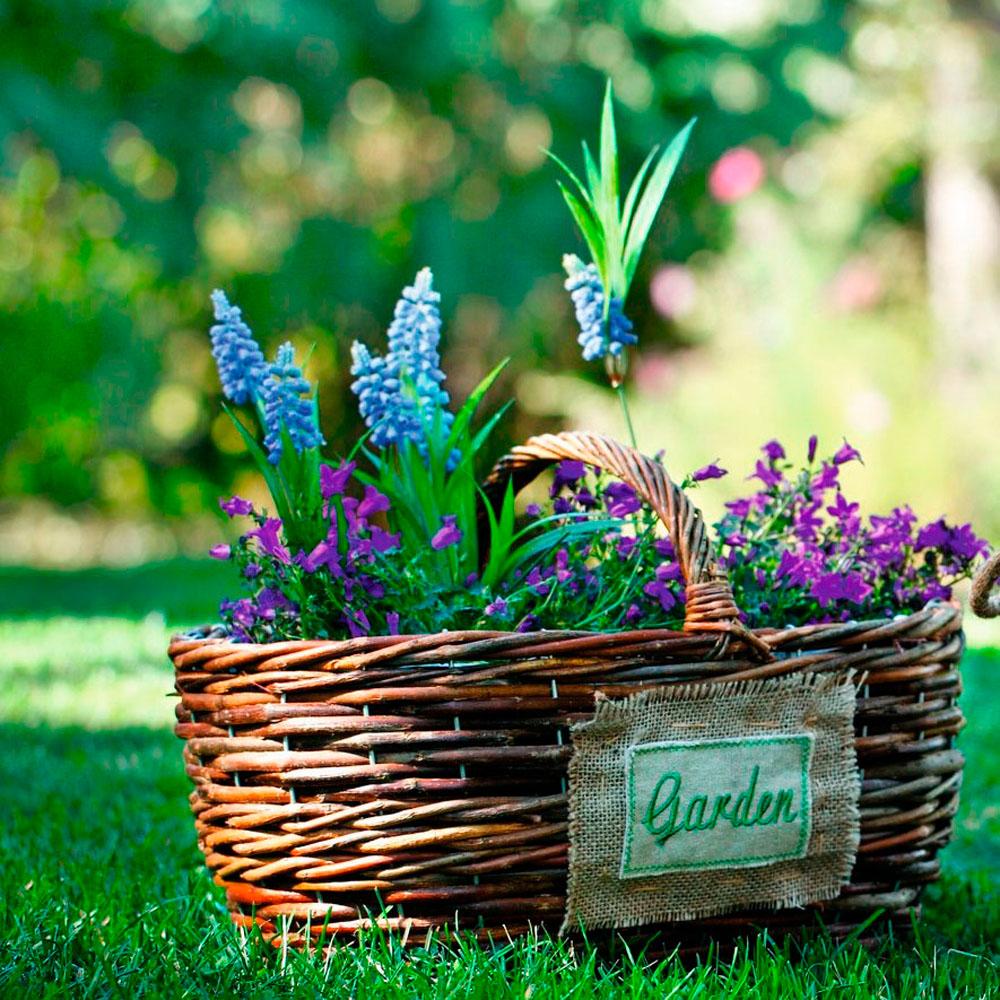 """Кашпо - корзина """"Garden"""" с ручкой"""