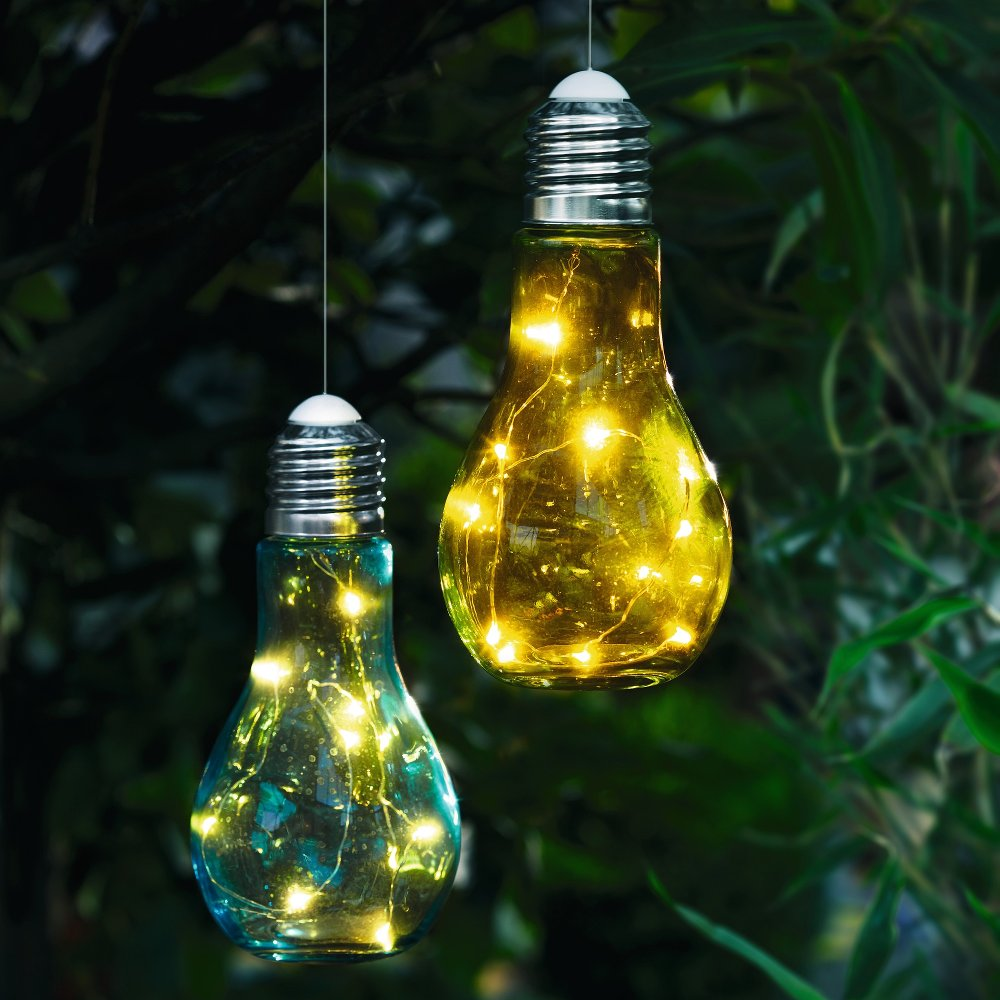 "Декоративное подвесное украшение ""Лампочки"" 2шт."