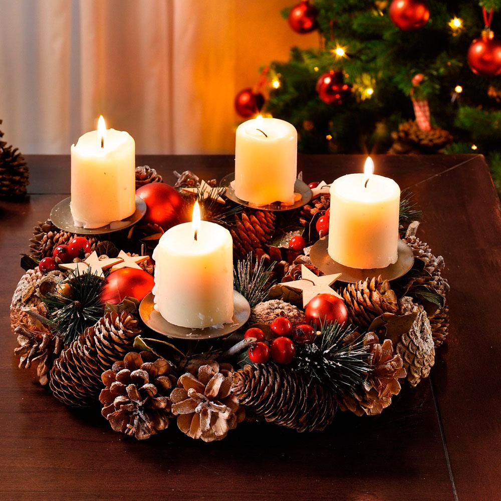 """Декоративный венок """"Волшебное Рождество"""" [05229] Декоративный венок """"Волшебное Рождество"""""""