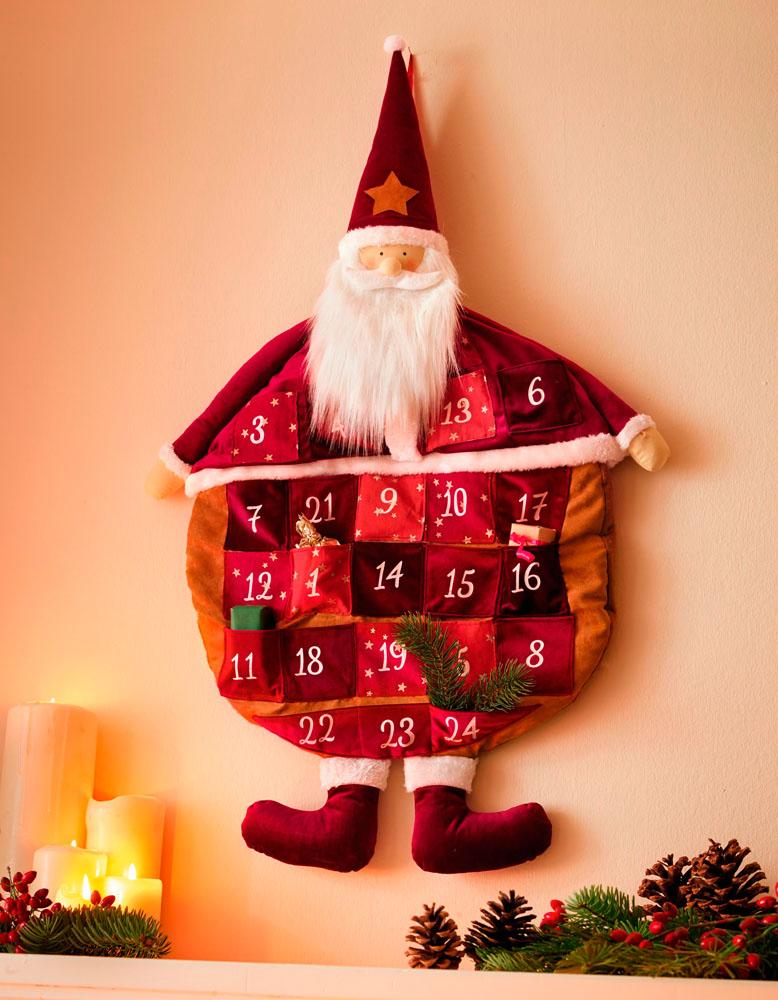 """Рождественский календарь """"Санта Клаус"""""""