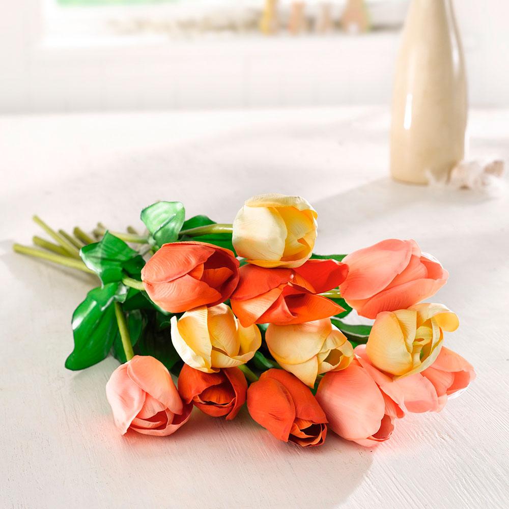 """Декоративные цветы """"Весенние тюльпаны"""", 3шт."""