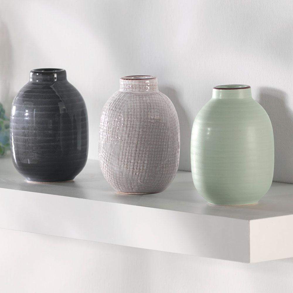 "Декоративные вазочки ""Шик"", 3 штуки"