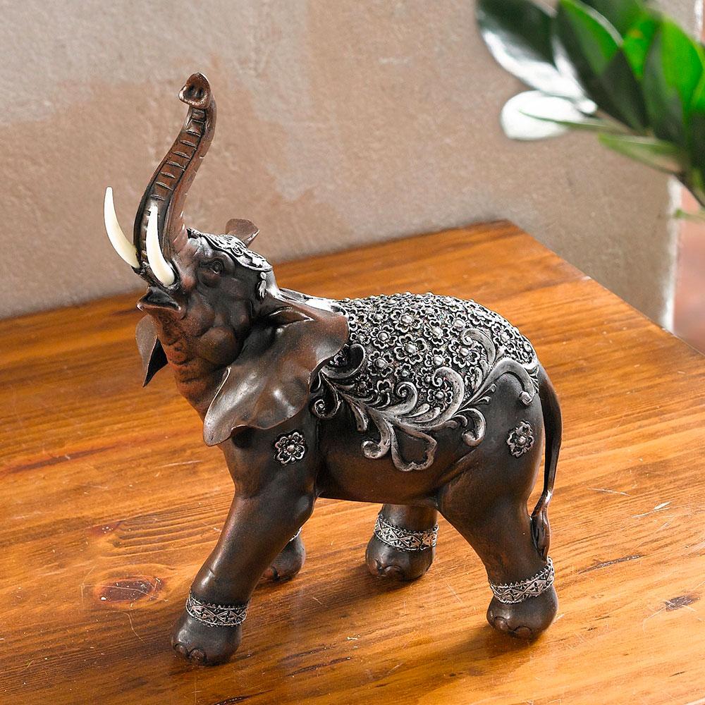 """Декоративная фигура """"Индийский слон"""""""