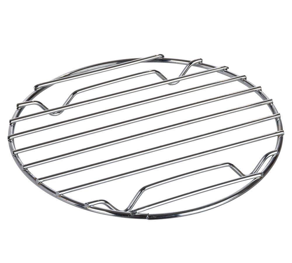 "Подставка под горячее ""Кали"", диаметр 20см, хром"