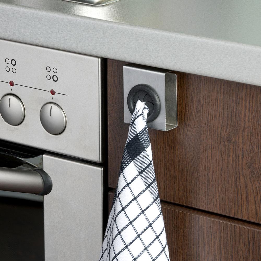 """Вешалка для полотенец для кухни и двери """"Push"""""""