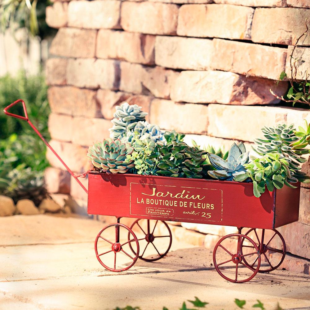 """Подставка для цветов """"Тележка Jardin"""""""