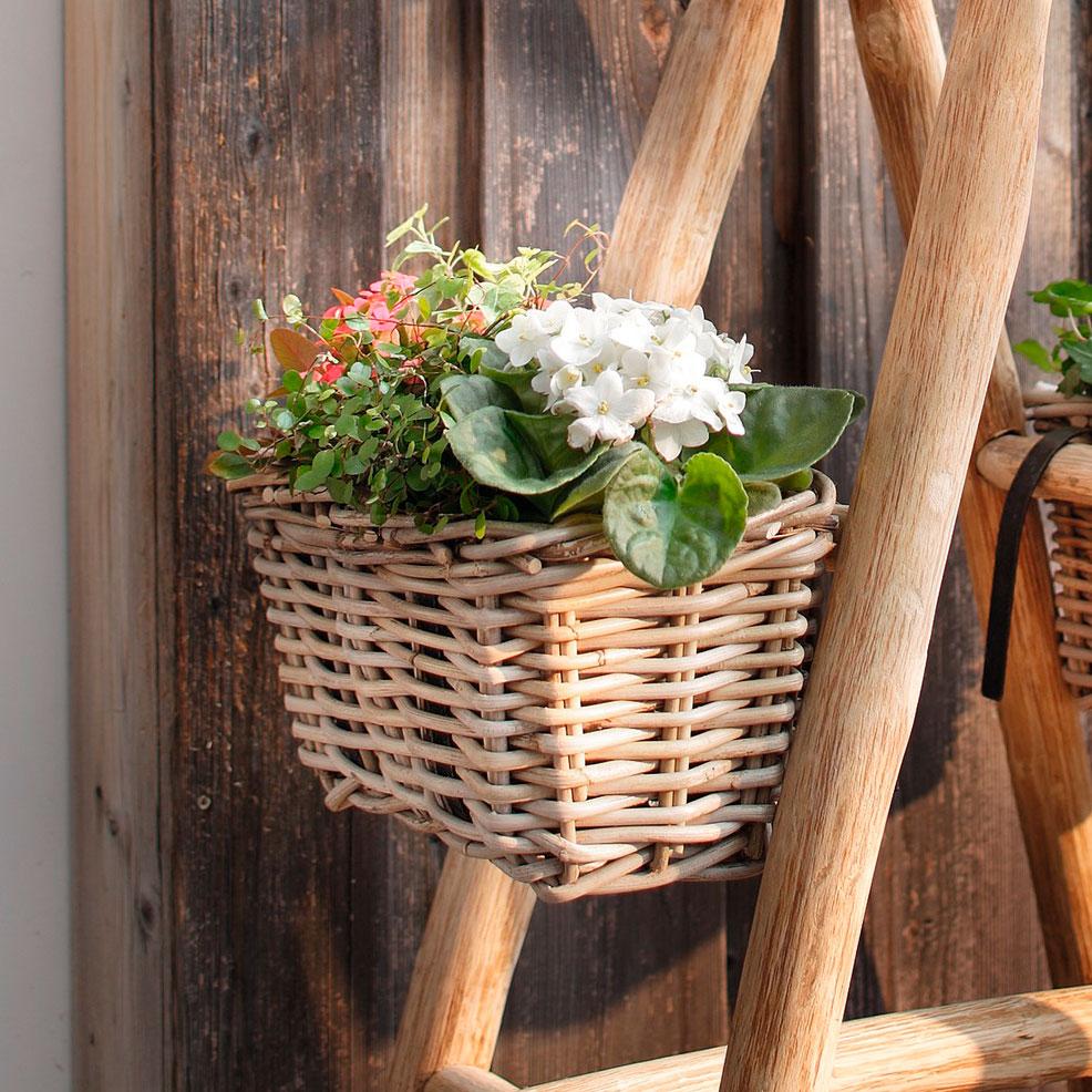 """Кашпо для цветов """"Ротанг"""", 1шт."""