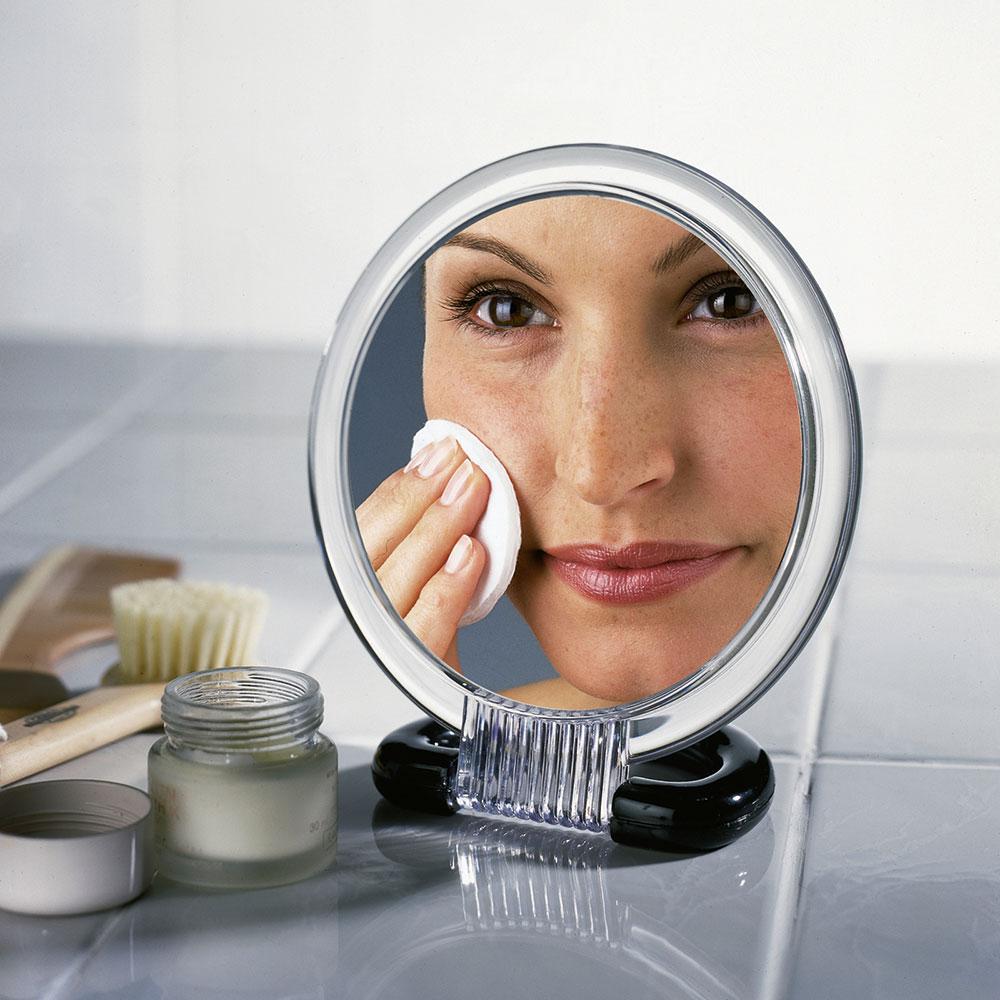 Косметическое зеркало, увеличительное