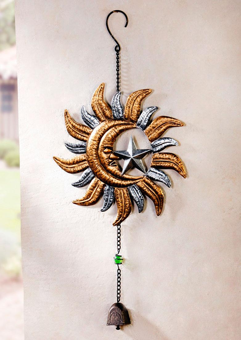 """Подвесное украшение """"Солнце, луна и звезды"""""""
