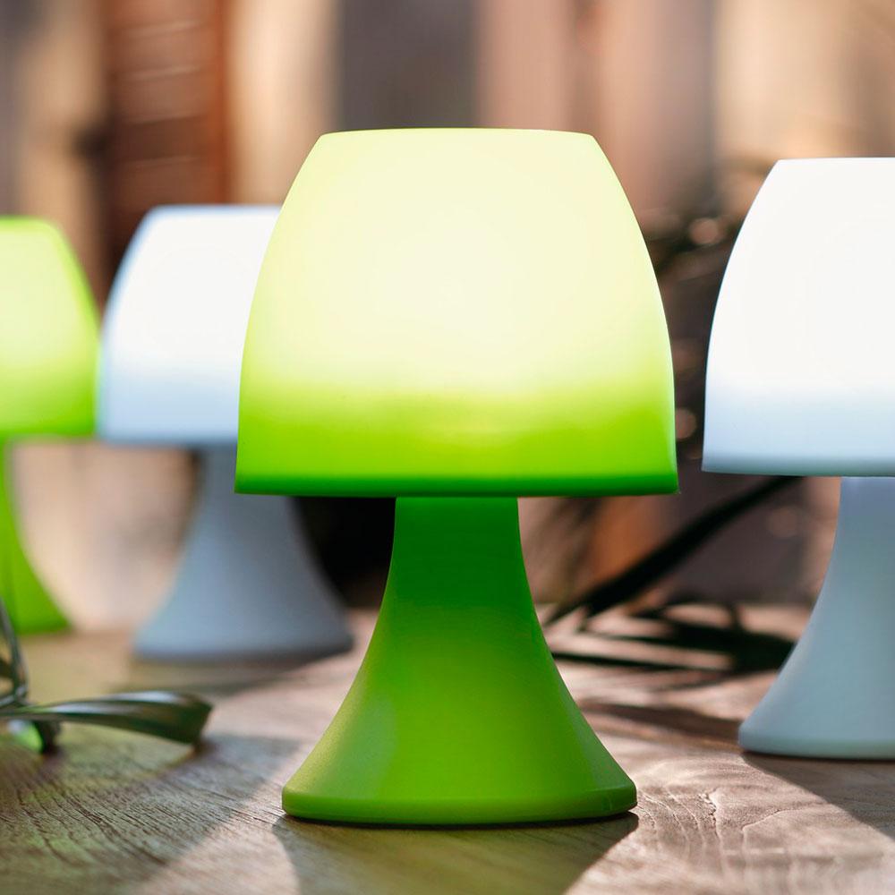 Лампы LED зеленые 2шт.