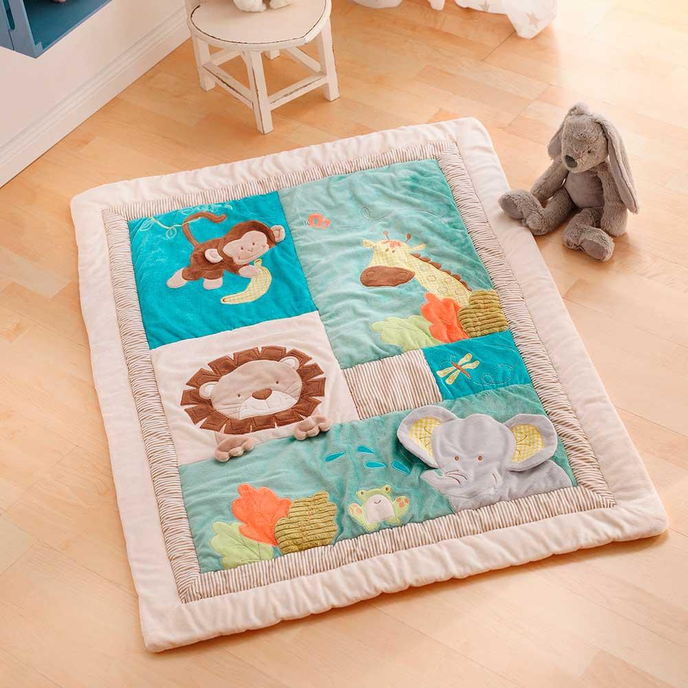 """Одеяло - подстилка для малышей """"Зоопарк"""""""
