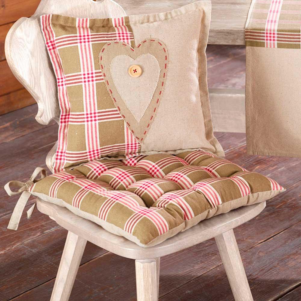 """Подушка для сидения """"Альпийский шарм"""""""