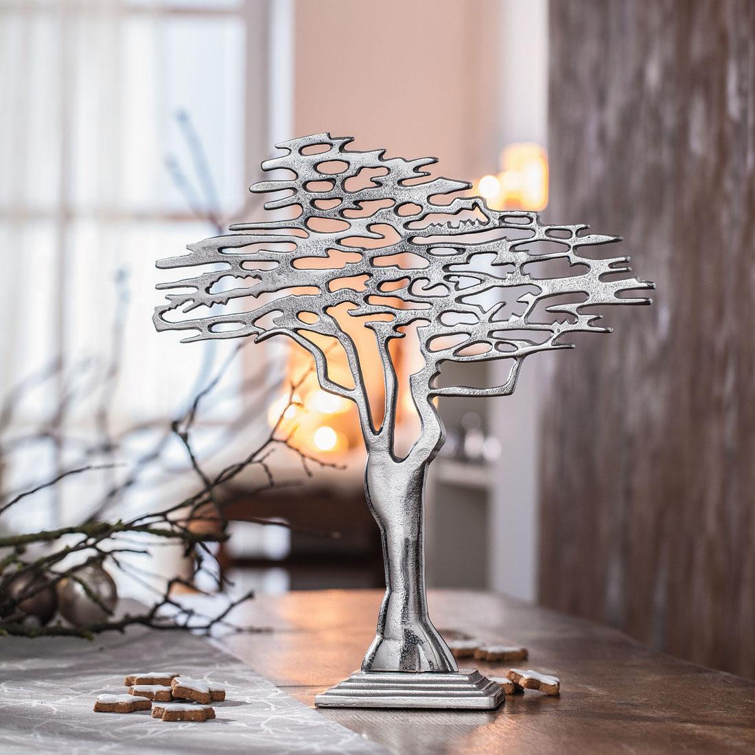 "Декоративная фигура ""Серебряное дерево"""