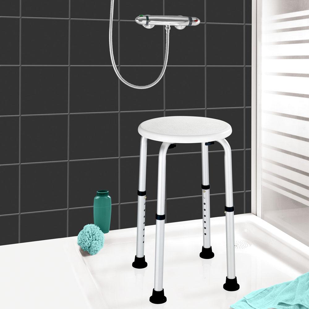 Табурет для ванной с регулировкой высоты