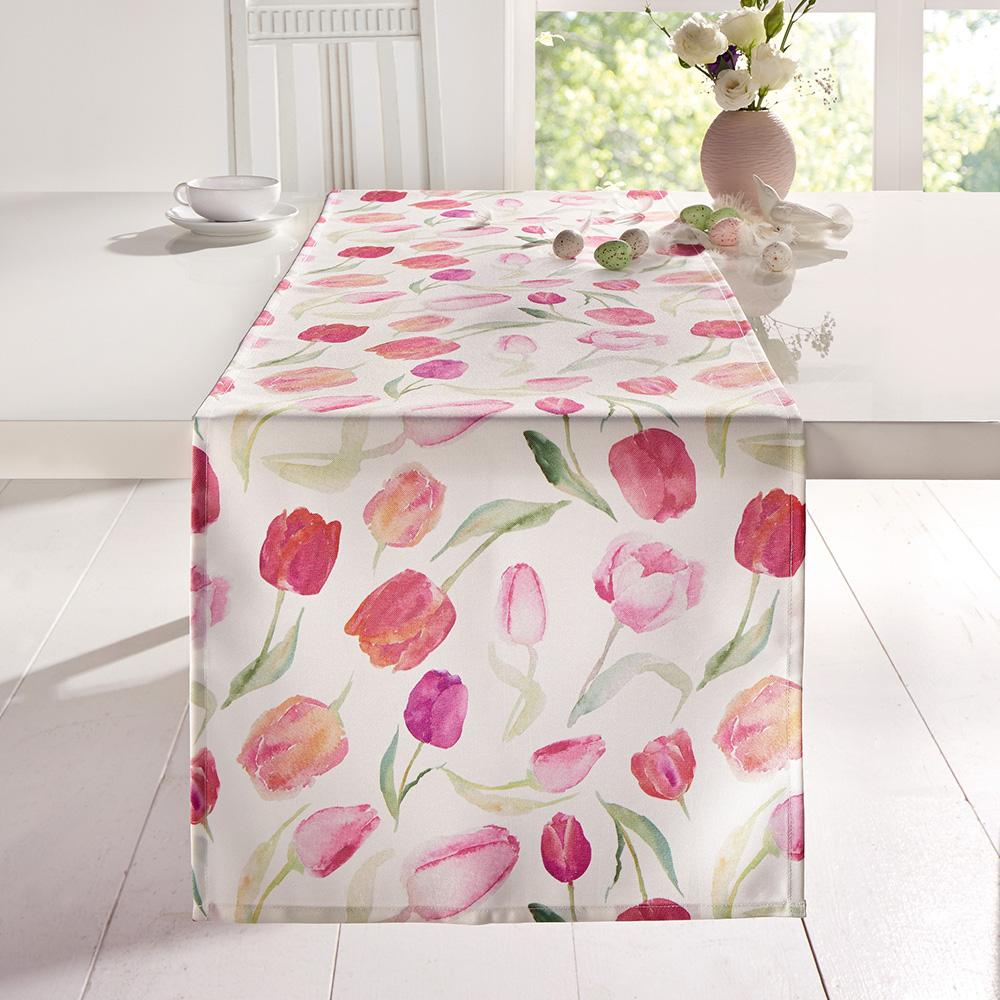 "Дорожка на стол ""Тюльпаны"""