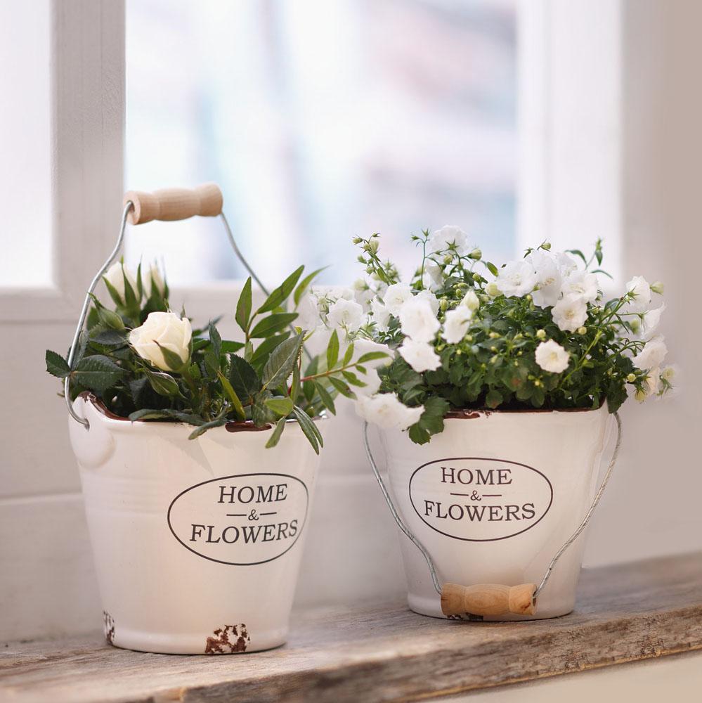"""Кашпо """"Home & Flowers"""", 2шт"""