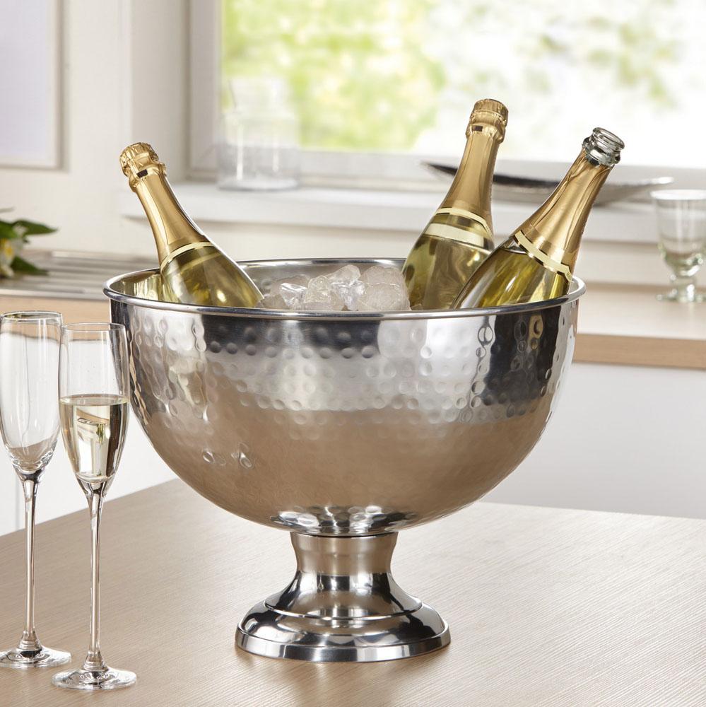 """Емкость для охлаждения шампанского """"Чеканка"""""""