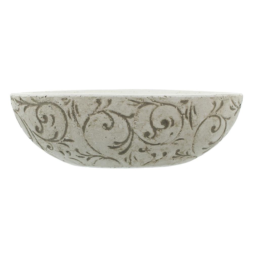 "Кашпо - чаша для растений  ""Узоры"" [01423] Горшок для растений  ""Узоры"", чаша"
