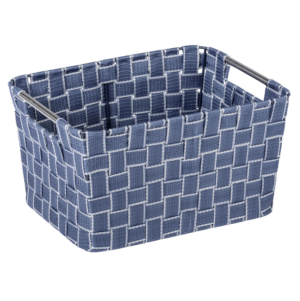 Корзина для ванной Fedra  L, синий