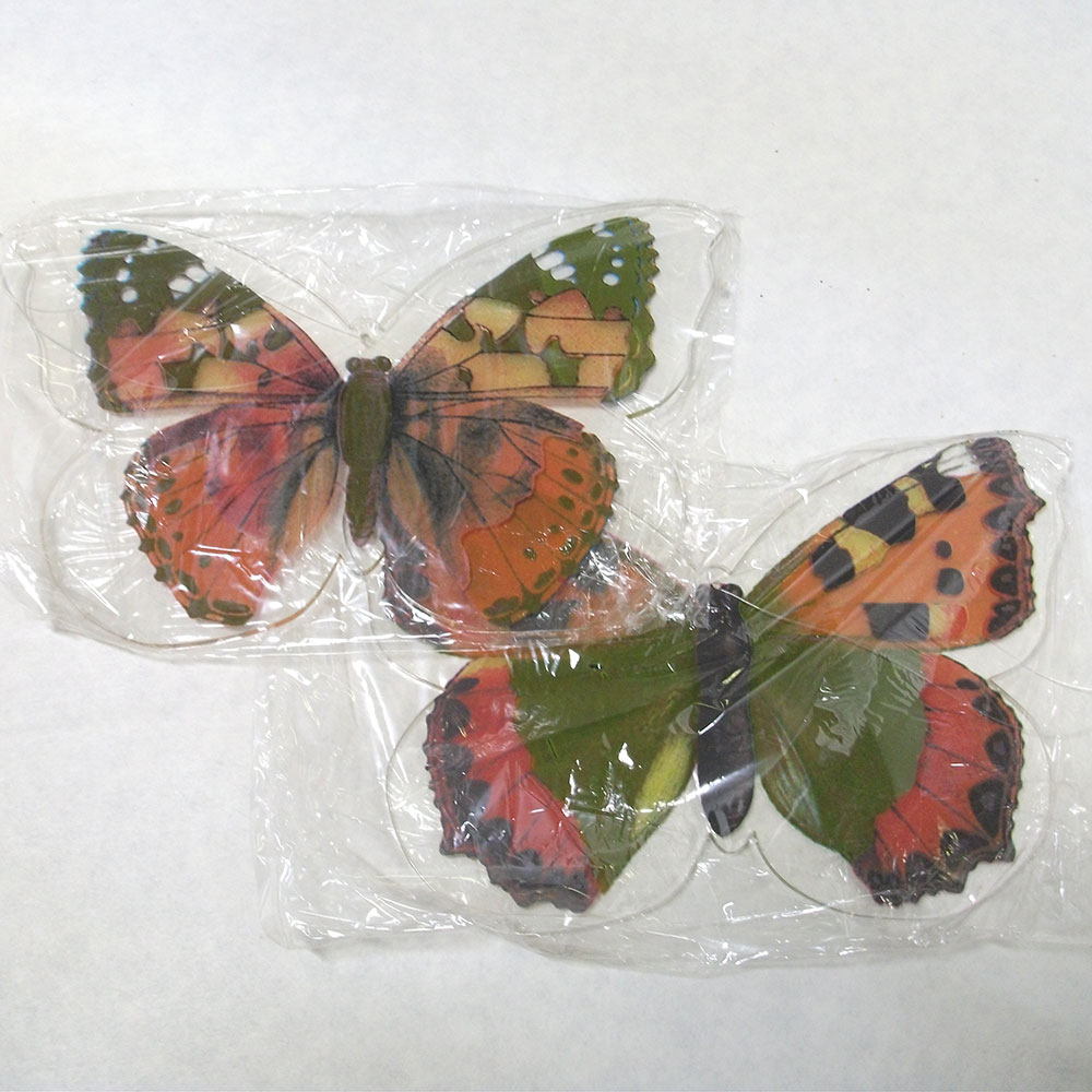 """Подвесные украшения """"Бабочки"""" 2 штуки [978822] Подвесные украшения """"Бабочки"""", в упаковке"""