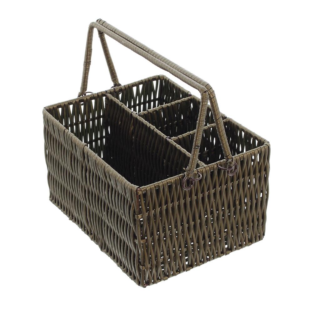 """Подставка-корзинка для столовых приборов """"Натур"""""""