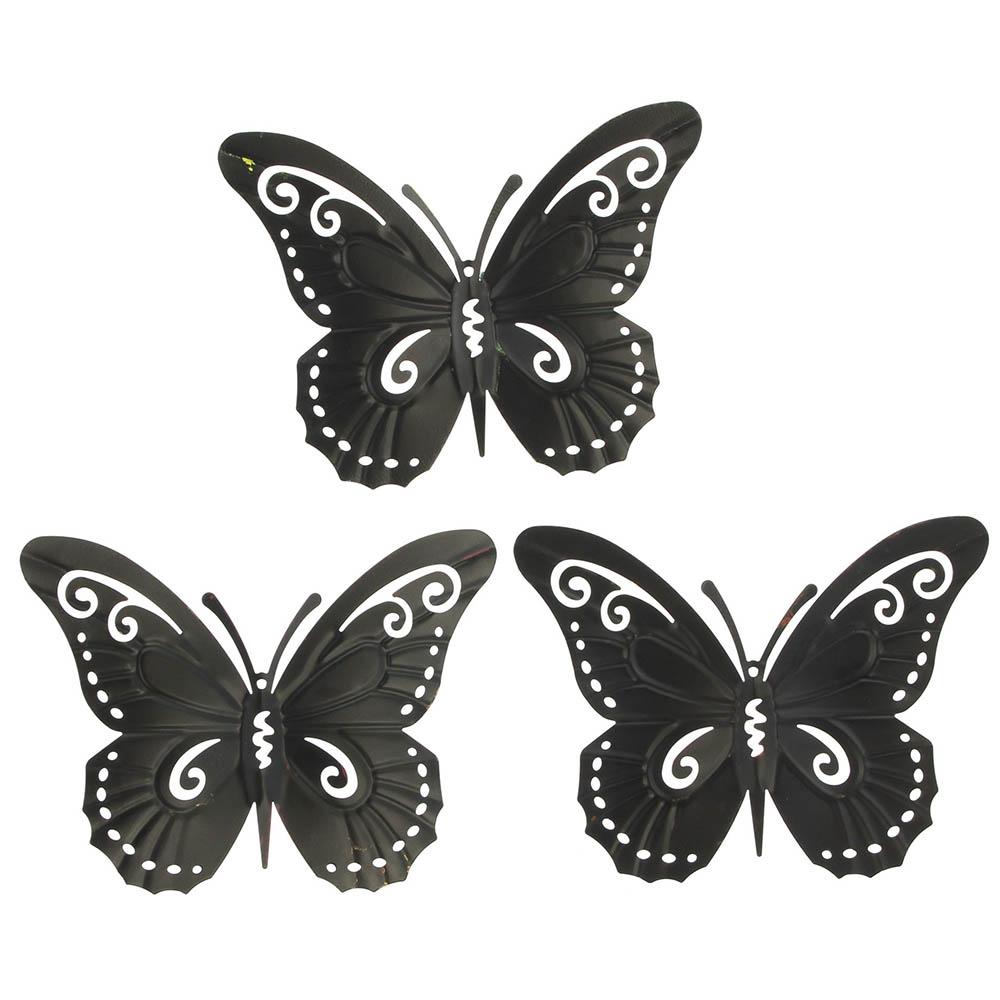 """Подвесные украшения """"Бабочки"""", 3шт"""