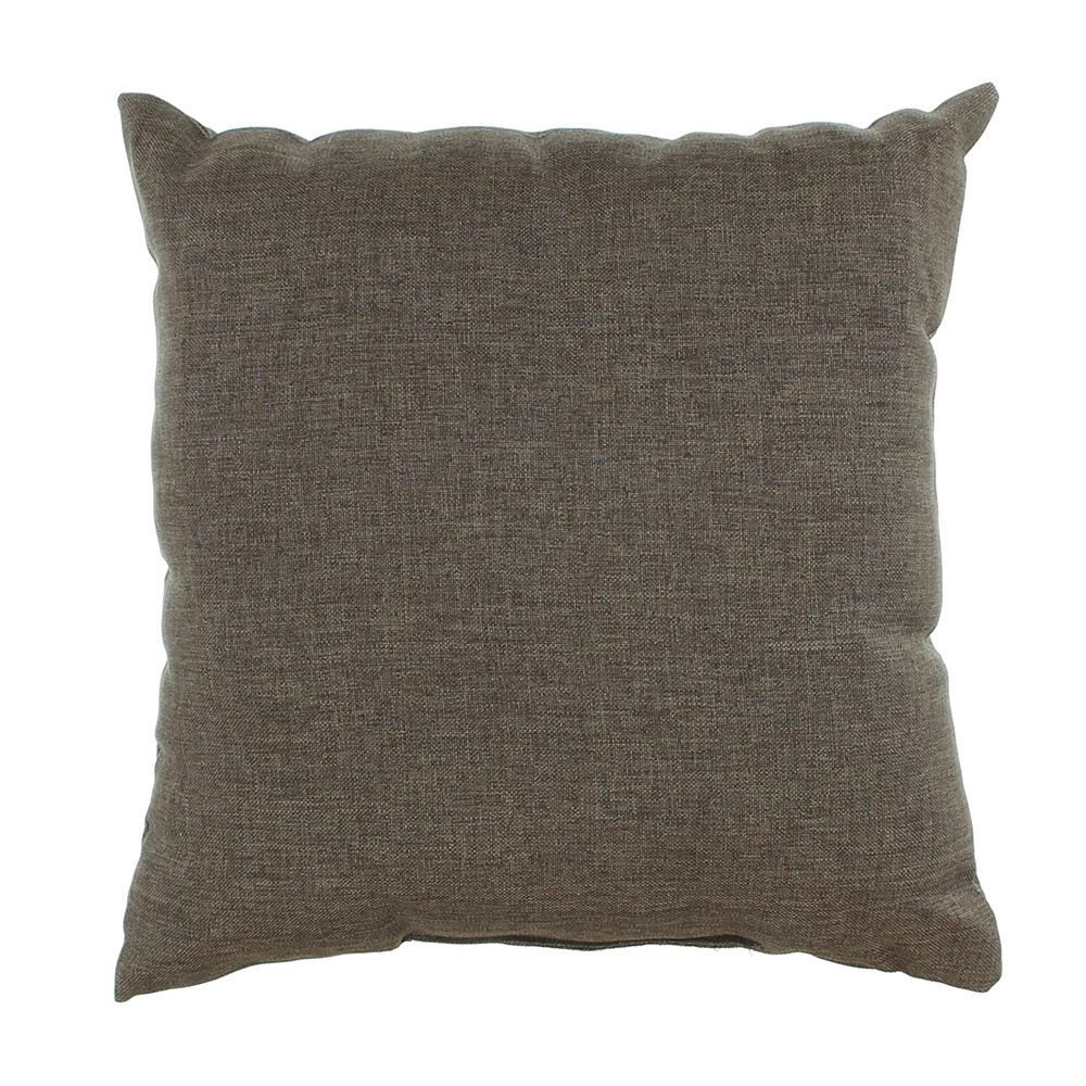 """Декоративная подушка """"Сова"""", коричневая, 30х30см"""