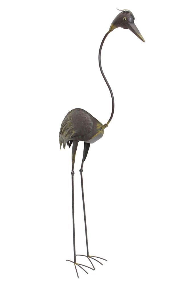 """Декоративная фигура садовая """"Цапля"""",  высота 108см"""