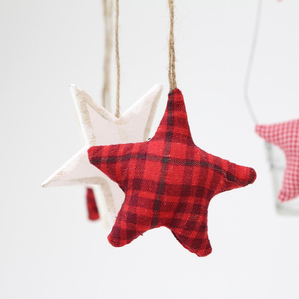"""Подсвечник-мобиле подвесной  """"Рождественские звезды"""""""